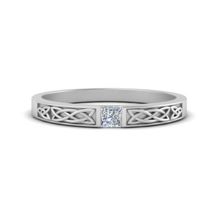 Princess Cut Celtic Women Band