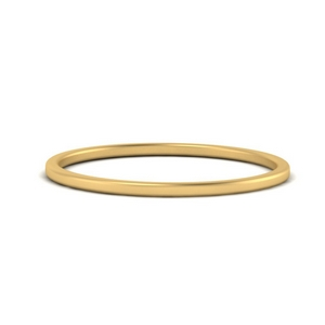 Plain Gold Wedding Band