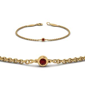 Ruby Bracelets For women