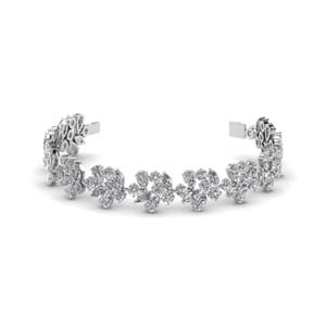 Extraordinary Diamond Bracelet Bangle