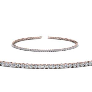 Graceful Diamond Tennis Bracelet
