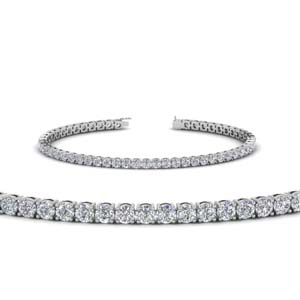 Womens Tennis Diamond Bracelet