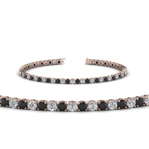 Tennis Black Diamond Bracelet