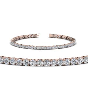 5 Carat Womens Diamond Bracelet