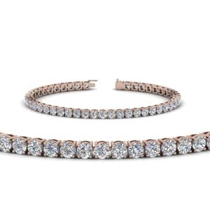 18K Rose Gold Tennis Bracelets