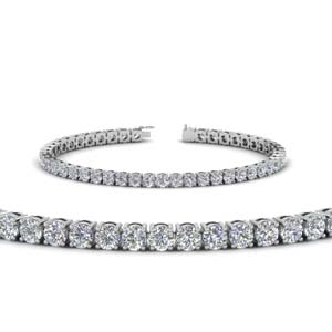 Tennis 14K White Gold Bracelet Gifts