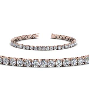 9 Ct. Round Diamond Tennis Bracelet