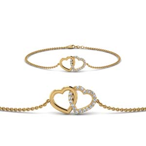 Heart Diamond Bracelet
