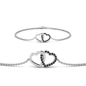 Love Black Diamond Bracelet