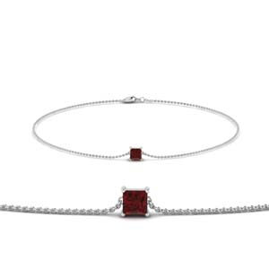 Princess Ruby Chain Bracelet