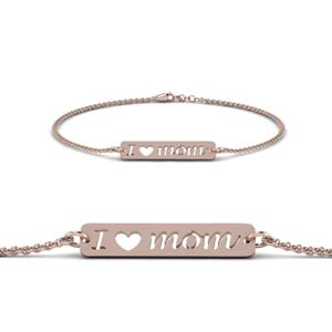 Rose Gold Bracelet For Mom