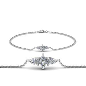 3 Diamond Bracelet For Mom