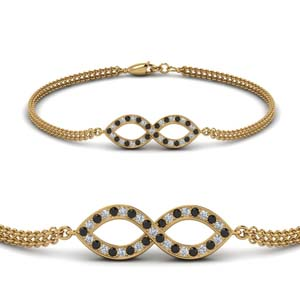 Black Diamond Bracelets Women