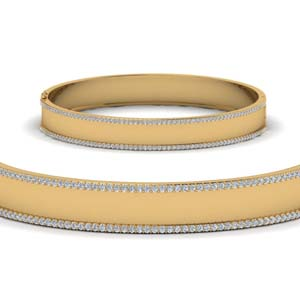 Bangle Diamonds Bracelet