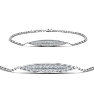 Pave Marquise Bracelet