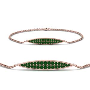 Genuine Emerald Bracelets