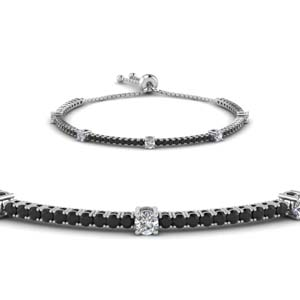 Classic Design Black Diamond Bracelet