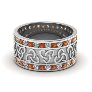 Celtic Wide Wedding Band