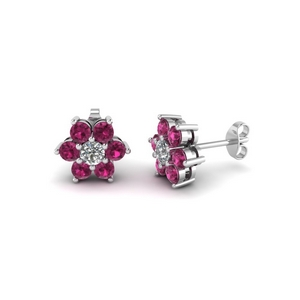 Flower Stud Earring For Her