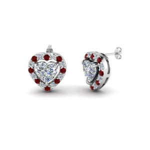 Ruby Earring For Her