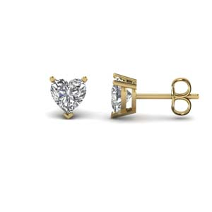 Heart Diamond Earring 2 Ct.