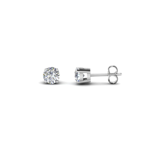 1.50 Ct. Round Stud Diamond Earring