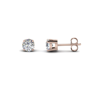 3 Carat Single Diamond Earring