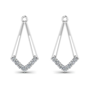 Dangle Diamond Earring Jacket