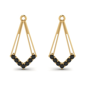 Black Diamond Earring Enhancer