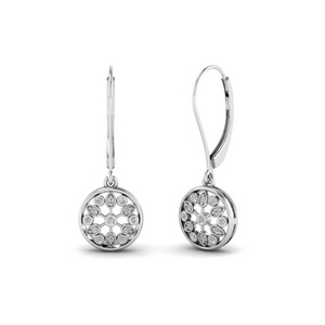 Floral Drop Dangle Earring