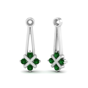 Emerald Earlobe Jackets