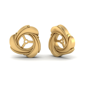 Knot Gold Ear Jackets