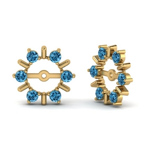 Affordable Topaz Earring Jackets