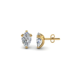 one-carat-diamond-pear-stud-earring-in-FDEAR8461PE-0.50CT-NL-YG