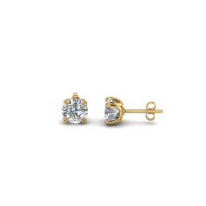 0.50 Carat Diamond Stud Earring