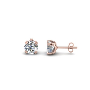 1.5 Ct. Diamond Round Stud Earring