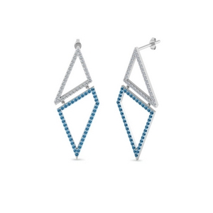 Topaz Drop Earring