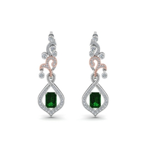 Exclusive Emerald Drop Earring