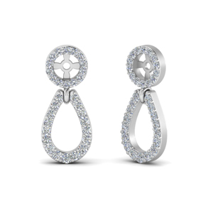 Pave Chandelier Earring Jackets