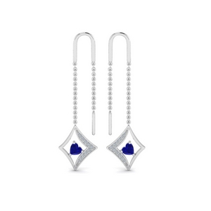 Kite Chain Thread Earring
