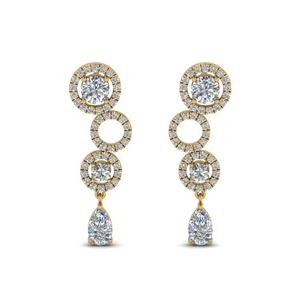 1.50 Ct. Diamond Drop Earring
