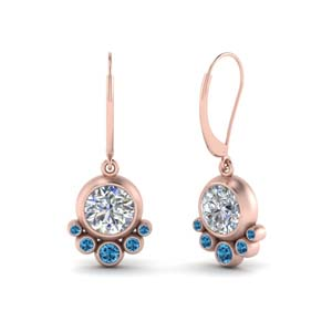 Topaz Dangle Drop Earring