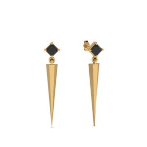 Black Diamond Women Earrings