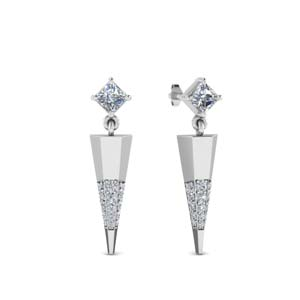 Mini Diamond Dangle Earring