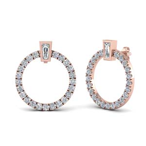 Circle Stud Earring For Women