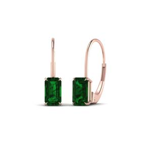 Women Emerald Earrings