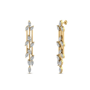Chandelier Diamond Earring