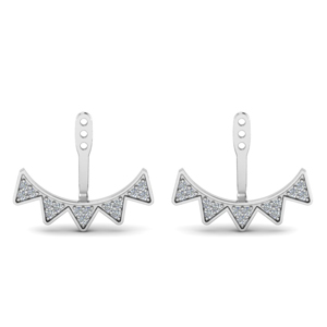 Diamond Earlobe Jackets