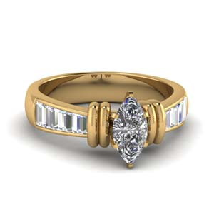 Marquise 1.50 Carat Diamond Ring