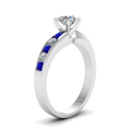 round-cut-diamond-engagement-ring-with-blue-sapphire-in-14K-white-gold-FDENR1115RORGSABLANGLE2-NL-WG